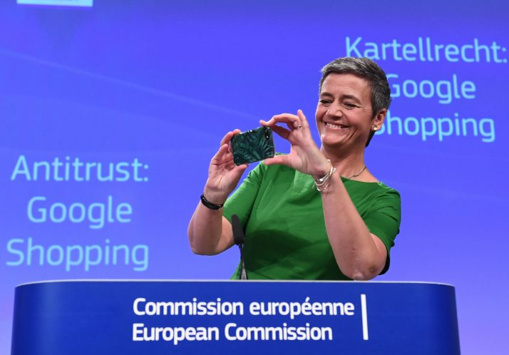 BELGIUM-EU-GOOGLE-ANTITRUST